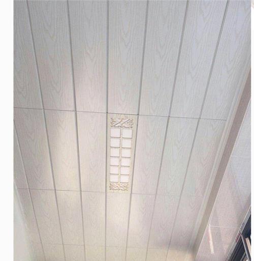 客厅天花板铝扣板-客厅铝扣板吊顶行不行