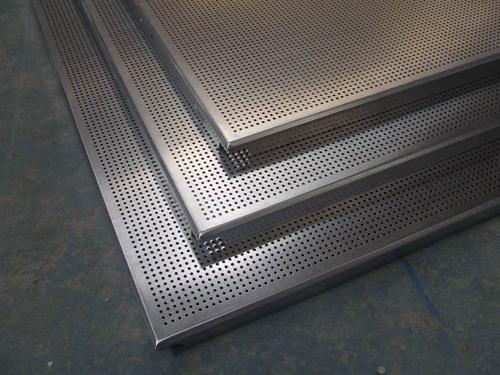 工程铝扣板厂家-铝扣板写字楼工程案例