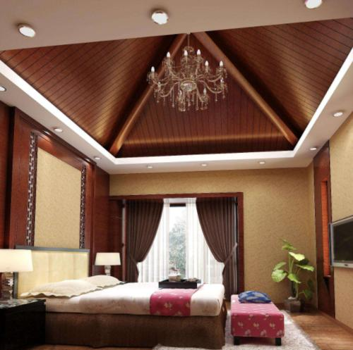 新中式客厅铝扣板吊顶-客厅铝扣板吊顶厂家之新中式铝扣板吊顶怎么样