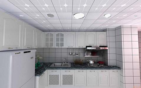 厨房吊顶铝扣板怎么样选择-跟着厨房铝扣板吊顶厂家看看厨房平面型吊顶怎么样