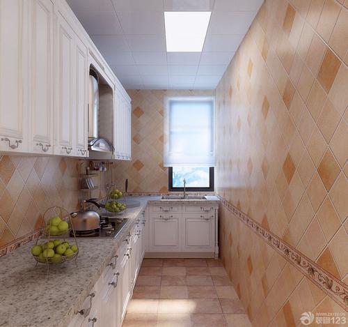 客厅长板铝扣板吊顶实景图-客厅铝蜂窝板吊顶实景图