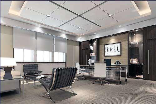 办公室铝扣板天花-办公室吊顶材料选什么