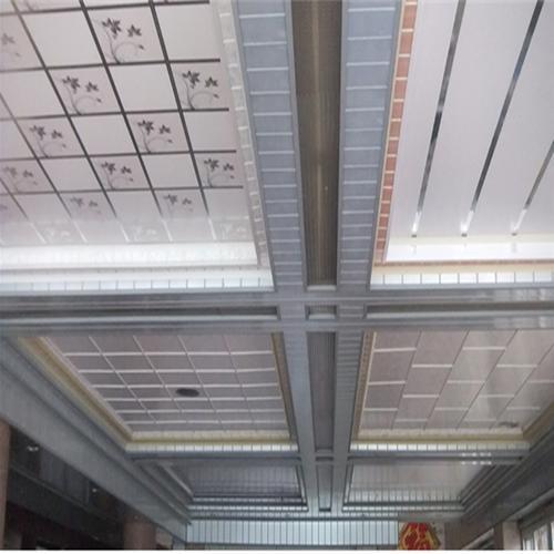 吊顶板铝扣板厂家-中山铝扣板厂家讲走廊过道吊顶用铝扣板怎么样