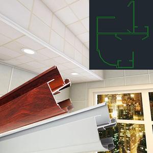 铝扣板高低吊顶-铝扣板高边低边是什么意思