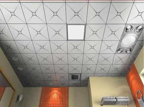 浴室铝扣板品牌-云浮铝扣板厂家讲卫生间吊顶的材料有哪些