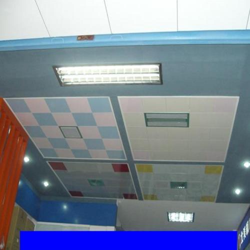 60集成吊顶图片-卫生间铝扣板吊顶图片大放送
