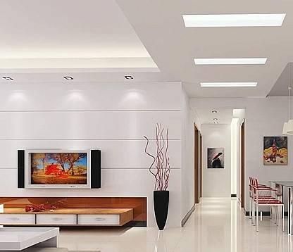 客厅铝扣板吊顶的图-30平客厅吊顶要多少钱