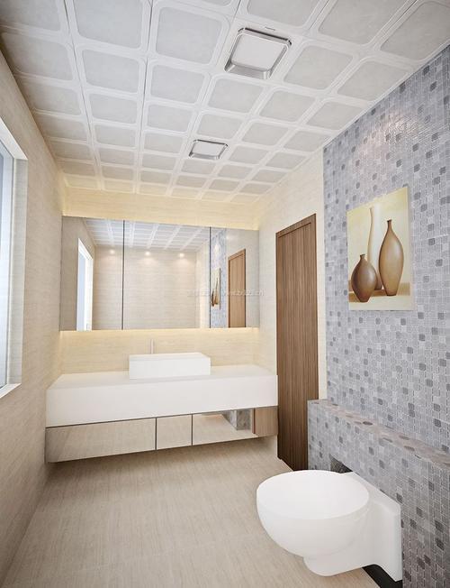 家装吊顶铝扣板效果图-铝扣板吊顶怎么拆卸