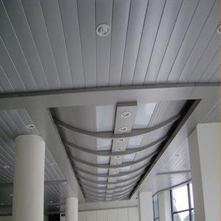 异型长条铝扣板吊顶-异型铝扣板吊顶怎么装呢