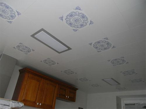 铝扣板吊顶材料的优点-厨房卫生间吊顶材料的选择