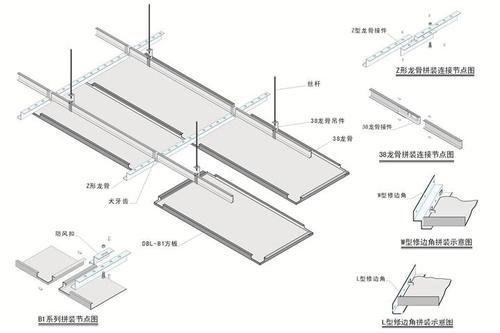 长条铝扣板的价格表-长条吊顶铝扣板拆卸步骤