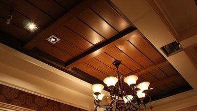 铝扣板一级吊顶效果图-新中式铝扣板吊顶效果图怎么样