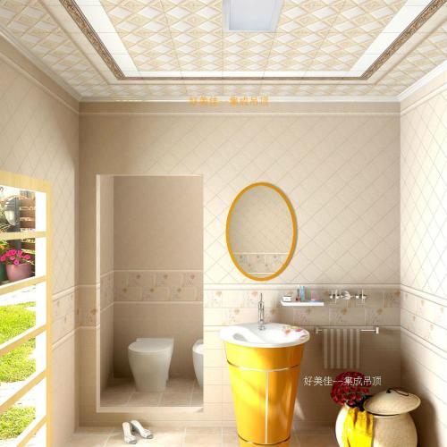 铝扣板墙面装潢图片-卫生间铝扣板吊顶图片大放送