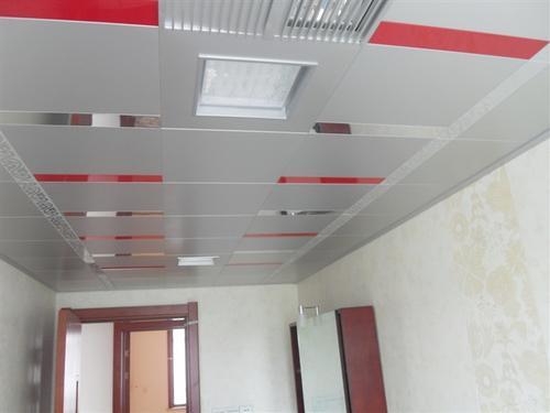客厅集成吊顶档次-客厅铝扣板吊顶安装