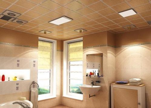 卫生间吊顶用多少厚度铝扣板-铝扣板吊顶用什么灯好呢