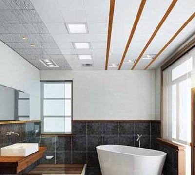 铝扣板吊顶可以造型吗-客厅可以使用铝扣板吊顶吗