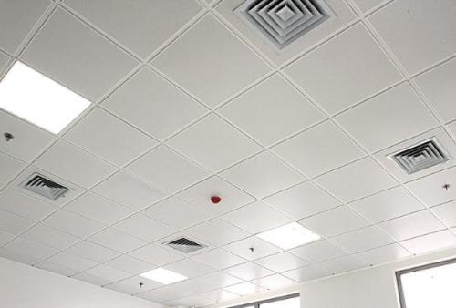 天花铝扣板效果图-跟着佛山铝天花厂家看格栅铝天花吊顶效果图