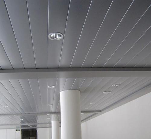 科技木集成吊顶-铝扣板集成吊顶效果图