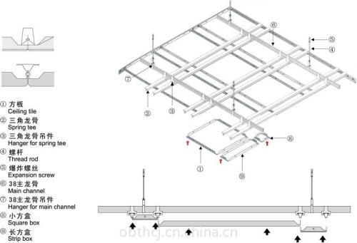 铝扣板厂址-卫生间铝扣板吊顶厂家告诉你
