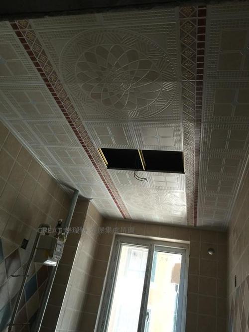 卫生间集成吊顶怎么样排风-卫生间铝扣板吊顶图片大放送