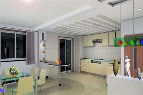 厨房吊顶铝扣板什么颜色好看-铝扣板吊顶怎么才装的好看