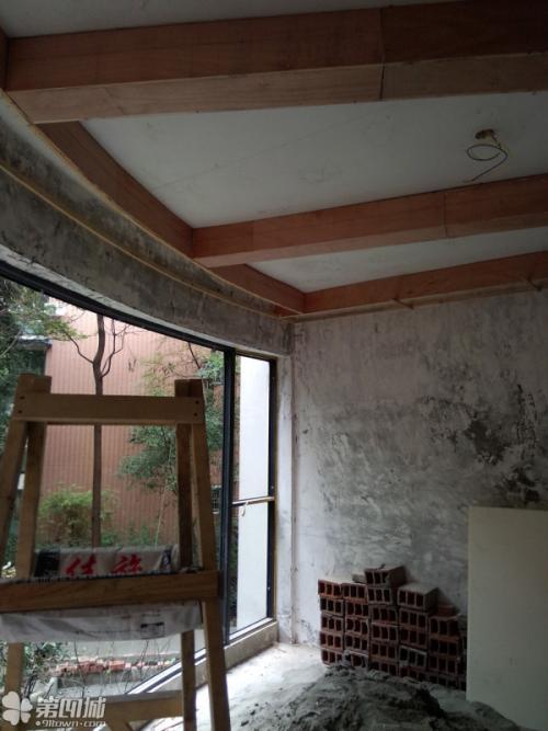 半吊集成吊顶效果-卧室铝扣板吊顶效果