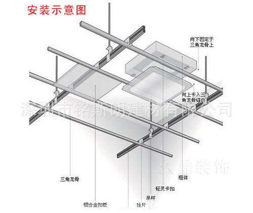 广州集成吊顶直厂-家用铝扣板集成吊顶有啥好处呢