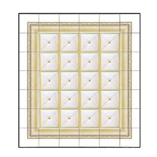 现代铝扣板吊顶贴图-现代简约铝扣板吊顶效果图