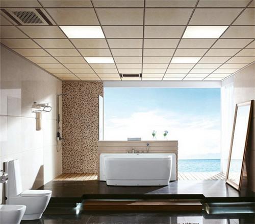 家用卫生间铝扣板什么品牌的好-佛山铝天花厂家讲解卫生间铝天花吊顶用什么类型好