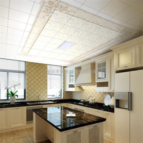 厨房吊顶铝扣板价目表-室内铝扣板厂家讲吊顶这种常用的装饰方法