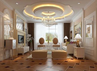 客厅铝扣板客厅吊顶效果图-客厅铝扣板吊顶厂家教你客厅吊顶这样装