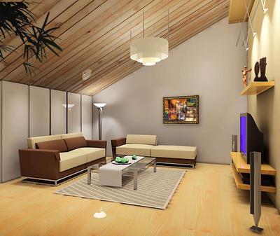 现代风格铝扣板吊顶图片-现代简约风铝扣板吊顶效果图