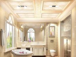 全国铝扣板吊顶十大品牌-卫生间铝扣板吊顶厂家讲将卫生间吊顶要怎么选