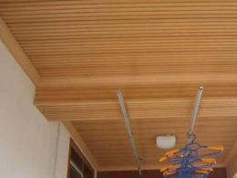 阳台铝扣板吊顶-阳台吊顶材料