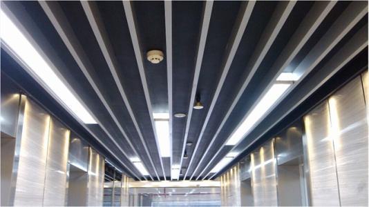 佛山铝天花厂家:U型槽铝天花又有什么优点,你造吗?