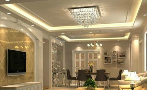 铝扣板吊顶客厅效果图大全-铝扣板装饰效果图客厅大全-铝扣板装饰效果图大全客厅吊顶
