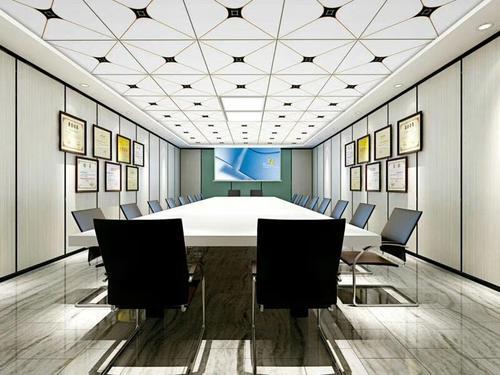 办公室铝扣板集成吊顶-办公室铝扣板吊顶图-办公集成吊顶铝扣板搭配