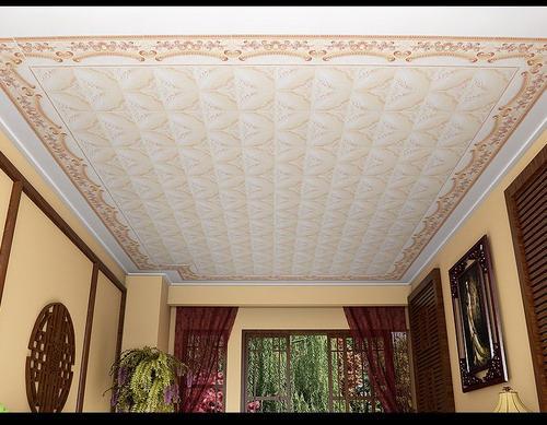室内装饰墙铝扣板-室内墙铝扣板-铝扣板店面室内装饰效果图