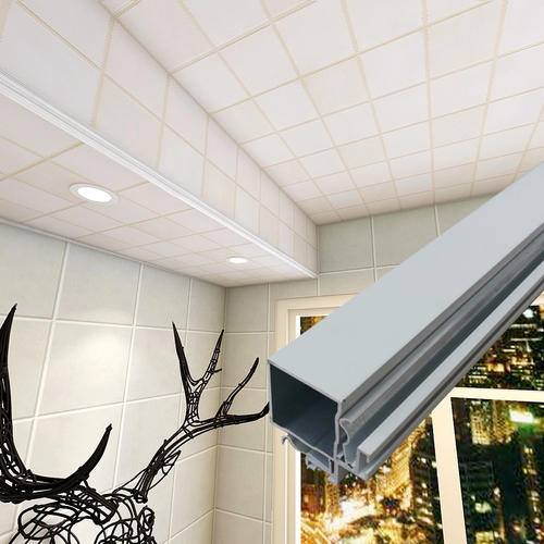 集成吊顶包管子-集成吊顶剪铝扣板板子-包头铝扣板集成吊顶
