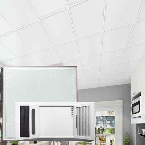 厨房天花用铝扣板-厨房天花为什么用铝扣板-厨房天花板用0.4铝扣板可以么
