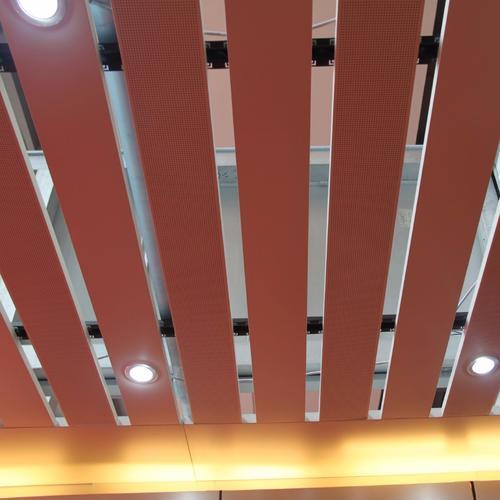 铝条扣天花-铝扣板天花线条-方条铝扣板天花