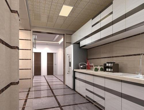 客厅大厅铝扣板吊顶效果图-客厅铝扣板大板吊顶效果图-大板客厅铝扣板吊顶效果图