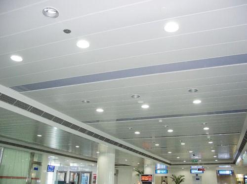 铝合金长条铝扣板-长条组合铝扣板吊顶-条形铝扣板和铝合金