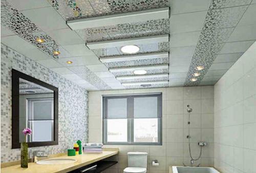铝扣板吊顶图片有造型的-铝扣板二级造型吊顶图片-外墙铝扣板吊顶造型图片