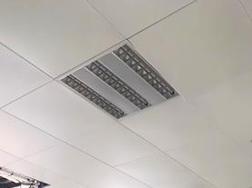 滚涂办公室铝扣板