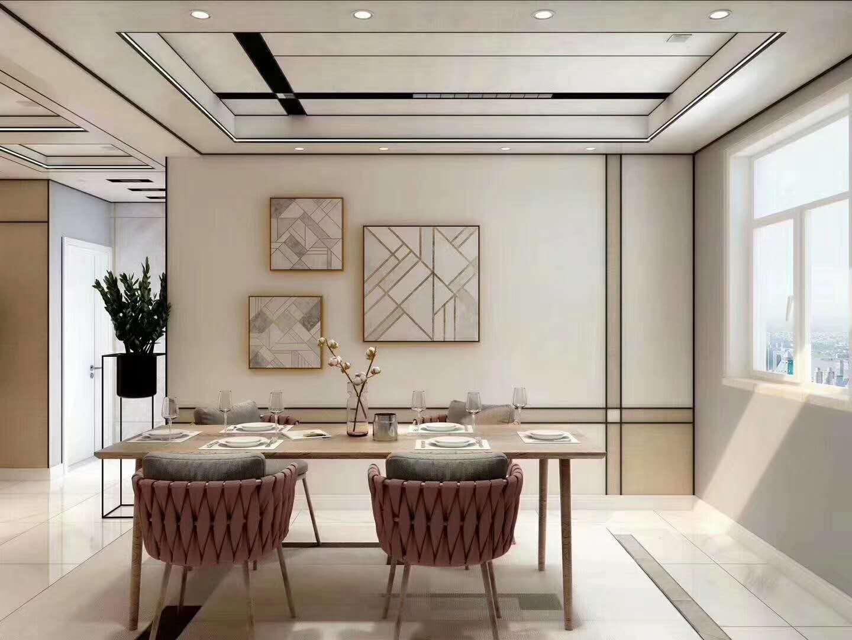 轻奢客厅铝蜂窝板吊顶效果怎么样?看看效果图就知道