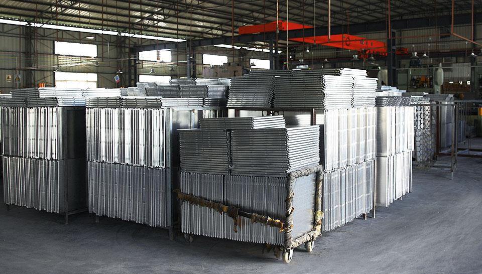 美利龙源艺铝扣板吊顶-工厂实力